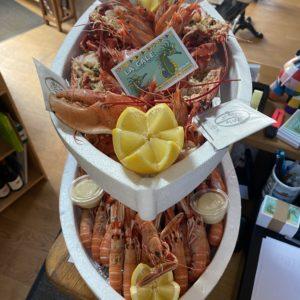 Carte et Fruits de mer